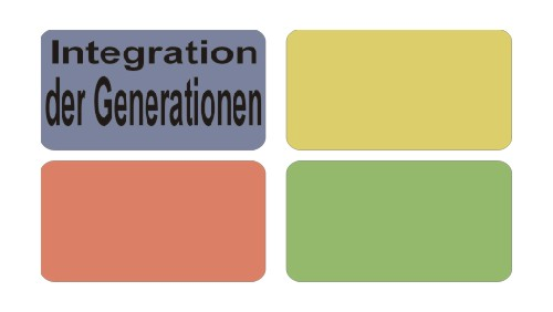 Bereich: Integration der Generationen